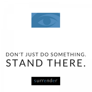 Stand There.