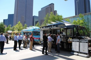 Food Trucks at Klyde Warren Park