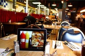ipad restaurant