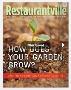 Restaurantville magazine cover